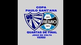 Cruzeiro 3x2 Gremio - Copa Paulo Sant´Ana - 01/10/2017