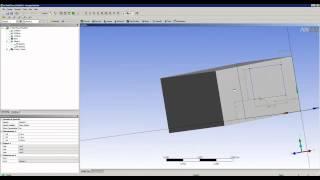 Видеоурок CADFEM VL1005 - Моделирование теплового состояния помещения в ANSYS Fluent ч.1