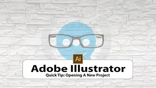 Basic Adobe Illustrator #1 - Opening A New Project
