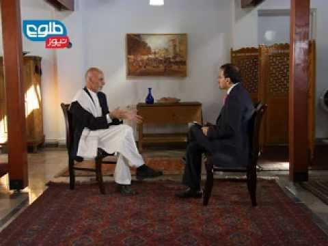TOLOnews Ashraf Ghani Ahmadzai Interview 26 October 2013 / گفتگویی ویژه با اشرف غنی احمدزی