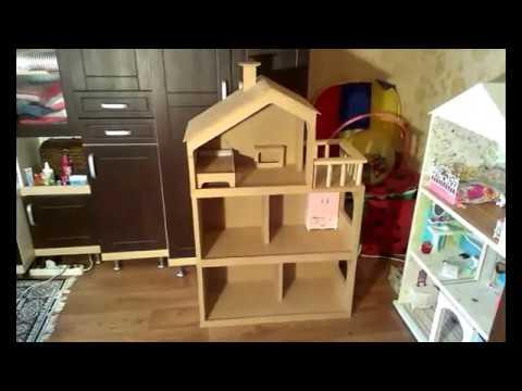 Кукольный домик из двп своими руками