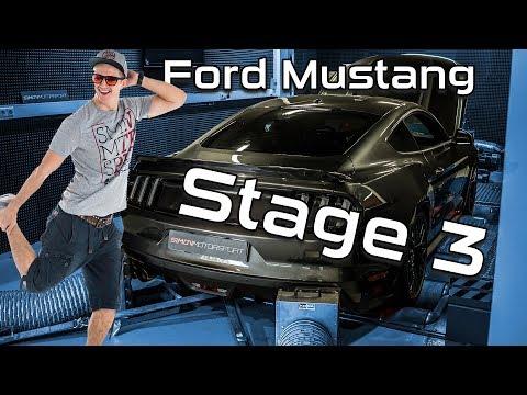 Ford Mustang |  Leistungssteigerung auf 505PS/580NM Sauger-Tuning Stage 3 | SimonMotorSport | #312