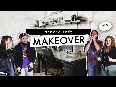 EXPOSED BRICK LOFT OFFICE MAKEOVER | Style Selected