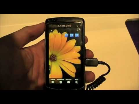 Samsung Omnia HD Hands On