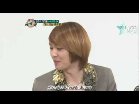 [SubEs] Onew& TaeMin Cut @Weekly Idol Ranking