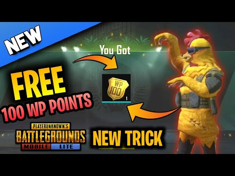 HOW TO INCREASE RANK FASTER IN PUBG MOBILE LITE | FREE 100 WP POINTS | TECH MWORLD