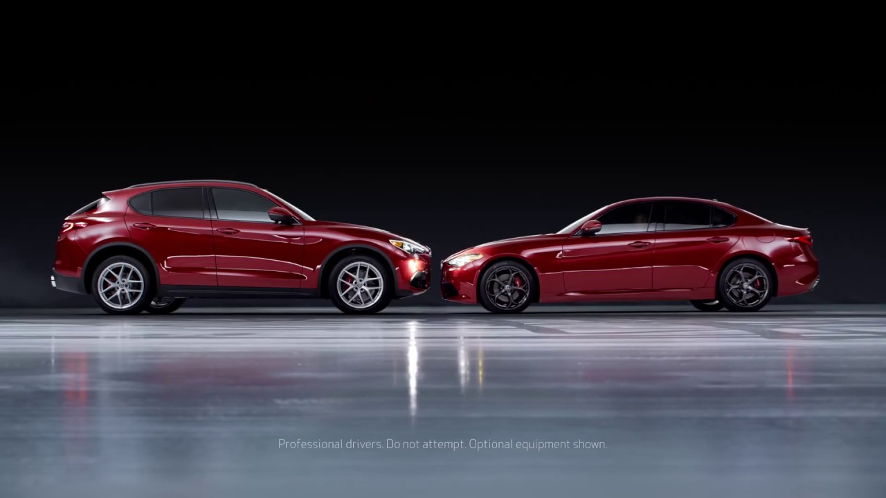 Alfa Romeo Stelvio Giulia Commercial Youtube