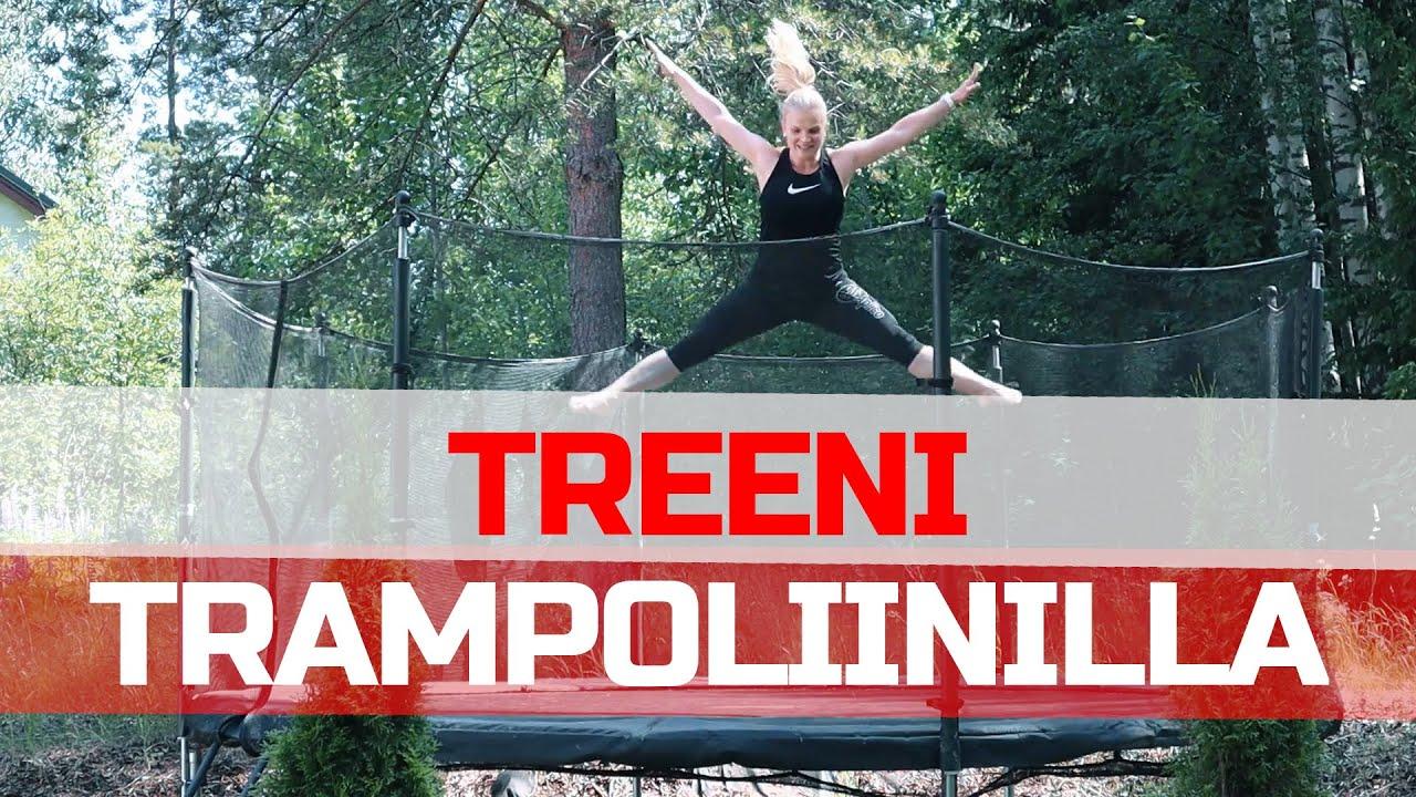 Trampoliini Treeni