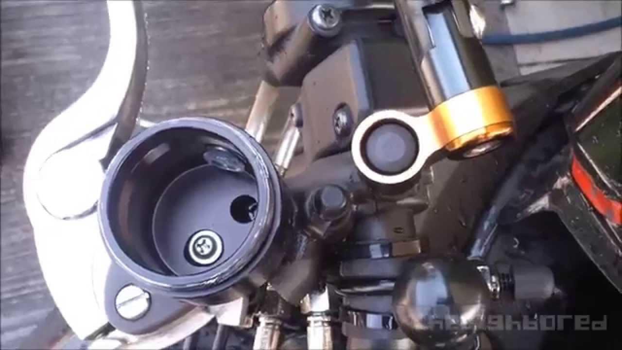 Kawasaki Z1000 Rizoma Brake Reservoir Galfer Lines