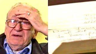 Nachdem Tod seiner Frau fand er einen Brief den sie 50 Jahre geheim hielt. Schock des Lebens!
