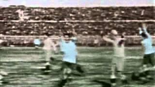 Чемпионат мира 1930.  Финал. Уругвай - Аргентина (4-2).  Гол Дорадо (1-0)