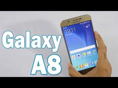 Samsung Galaxy A8 | Review en Español - El más Delgado de Samsung