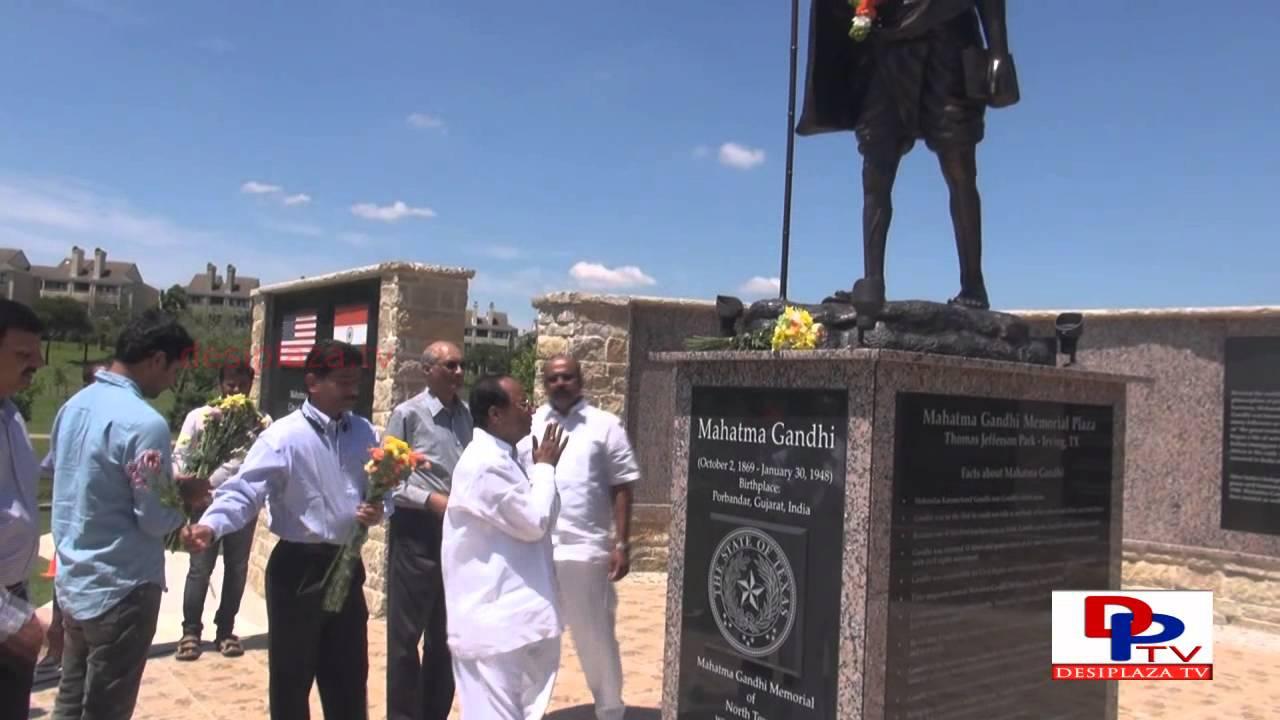 Dr.Kodela Siva Prasad visiting Gandhi Memorial Park 2015