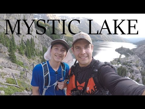 Catching LOADS Of Trout - In GORGEOUS Montana Mountains! - Mystic Lake (Fishing Montana)