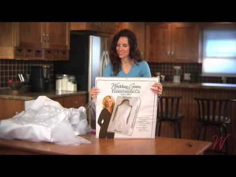 Wedding Gown Preservation Co. - Preservation Kit Instructions