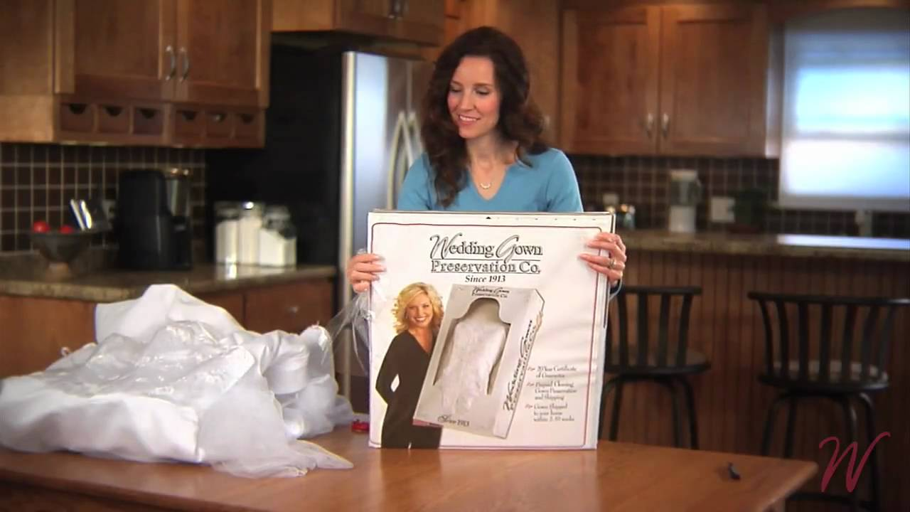 Wedding Gown Preservation Co. - Preservation Kit Instructions - YouTube