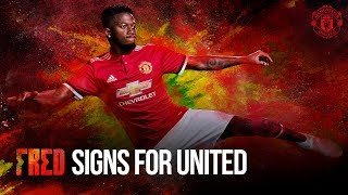 Fred signs! | manchester united | brazil world cup squad 2018