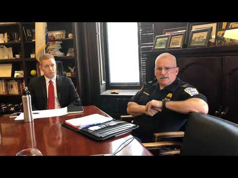 'Better for my family,' says Holyoke Police Chief James Neiswanger on decision to retire (video)