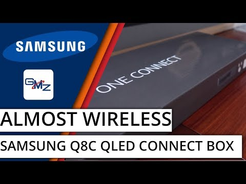 Samsung QLED One Connect Box - How To Connect Your Gaming Consoles