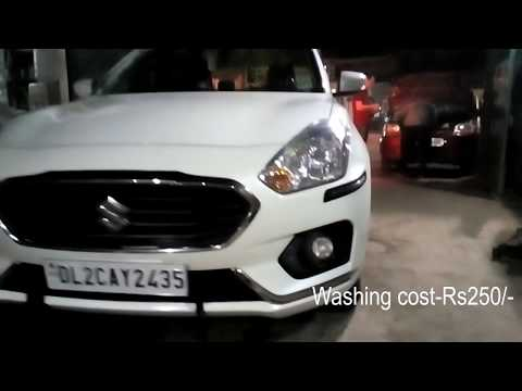 Things to remember before Car Wash || DriveXtra || Dzire 2018 Washing