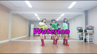 oh! Waterloo -  jin Line Dance…