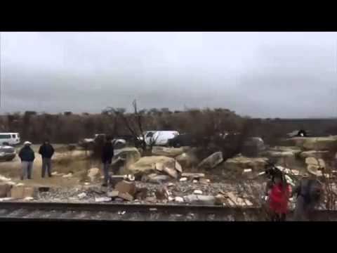 Aftermath Of Deadly TX Prison Bus Crash - Raw Video