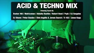 Acid & Techno Mix | With Tracklist | Vinyl Mix