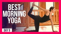 10 min BEST Morning Yoga Practice – Day #9 (10 MINUTE WAKE UP STRETCH)