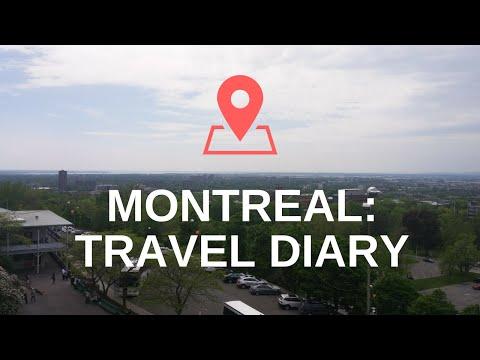 MONTREAL: TRAVEL DIARY