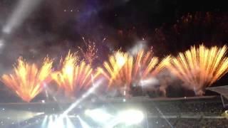 Cierre inauguración Juegos Mundiales Cali 2013