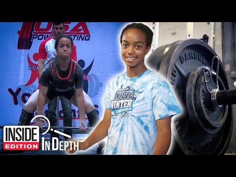 McCabe - This Girl is 14 and Might Be The Strongest Girl Ever