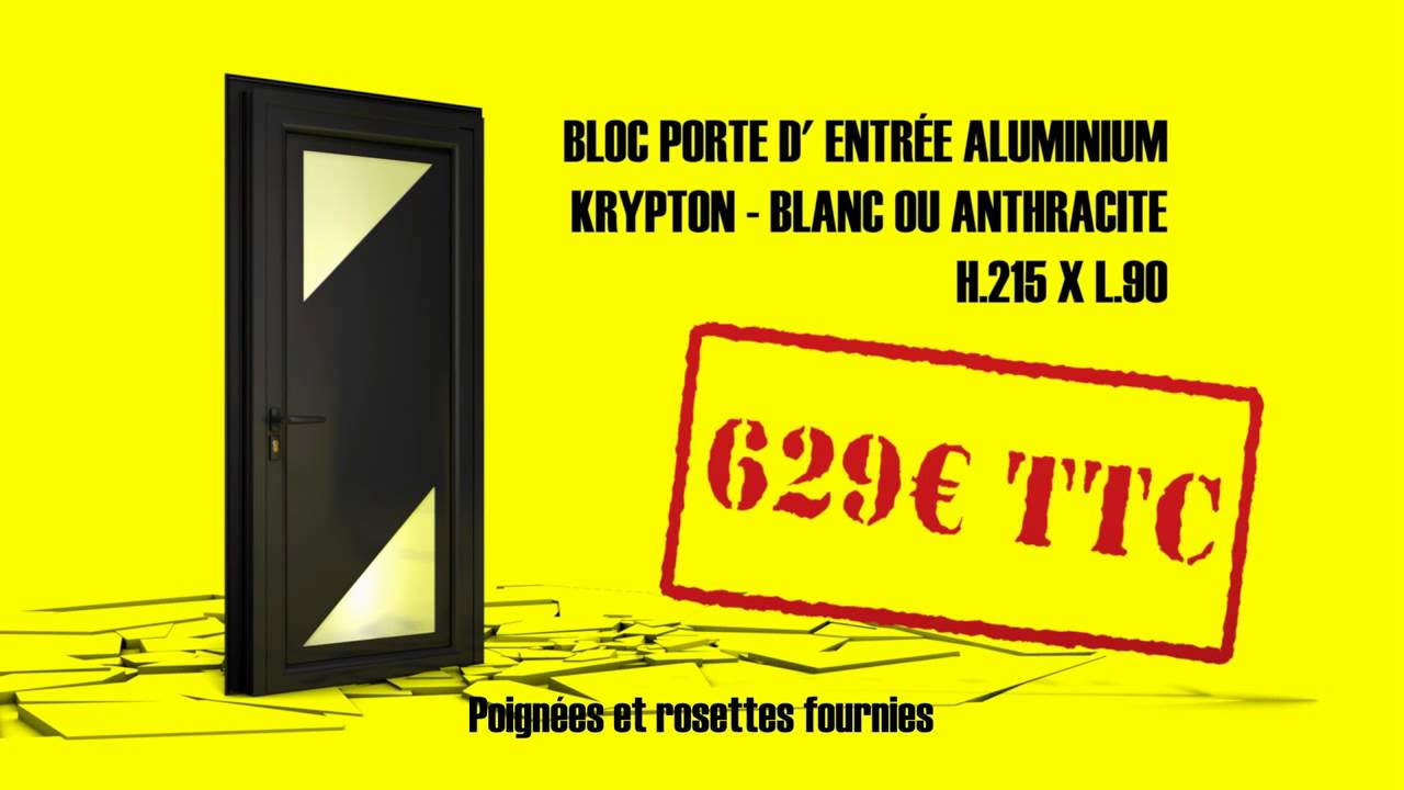 Pub Tv Vial Menuiseries Porte D 39 Entr E Aluminium Youtube