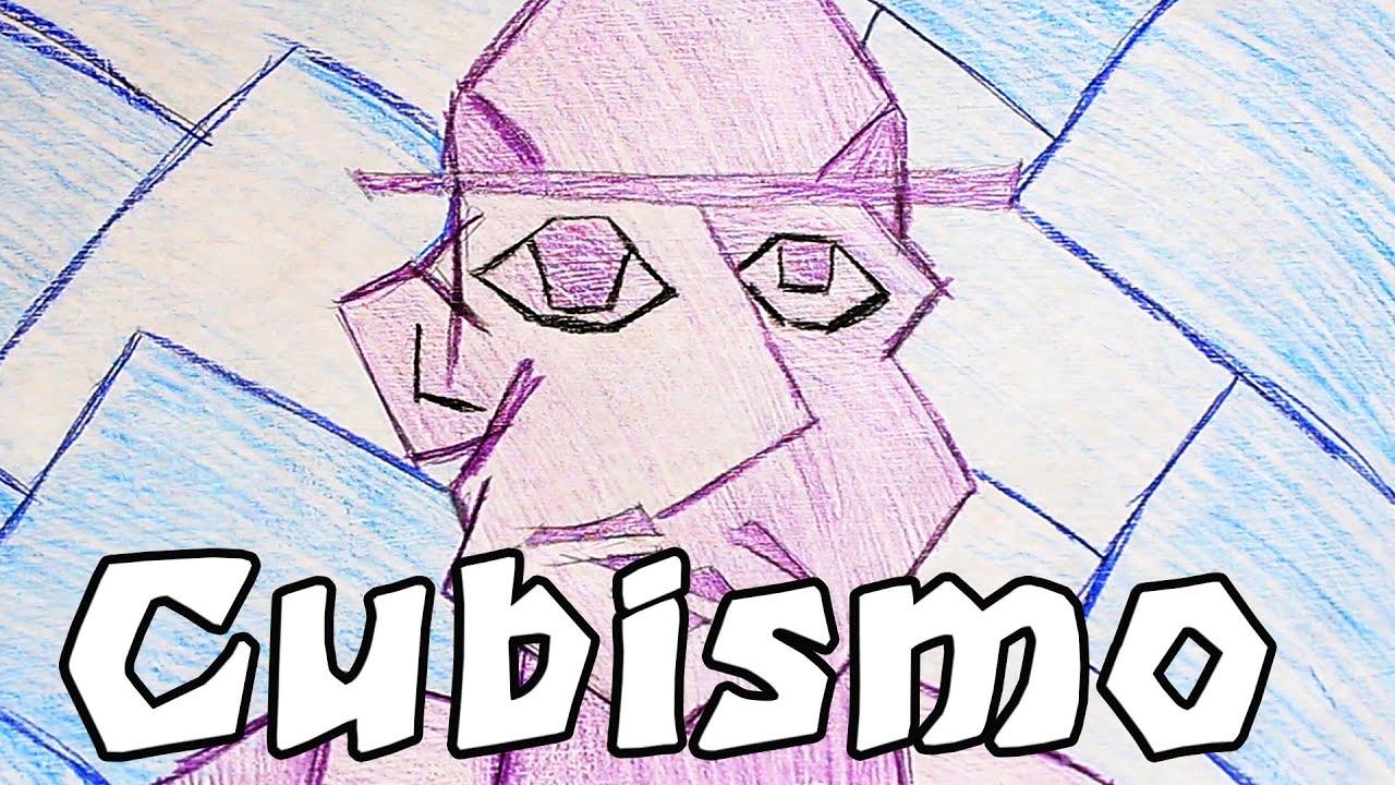 Cmo hacer un Dibujo Cubista BSICO  YouTube