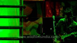 Frisky Pints from Mizoram rocking at Ziro music festival