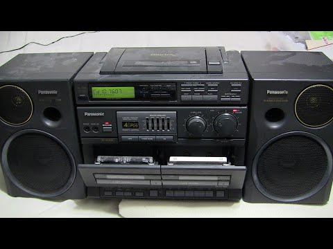 Panasonic RX-DT680 Both Cassettes 'shown' Play With CD Radio 2020 Buy It