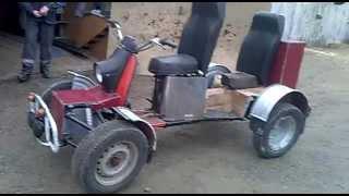 Квадроцикл из Муровья.