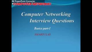 Computer Networking|| Interview questions  with Answers || frequently asked questions