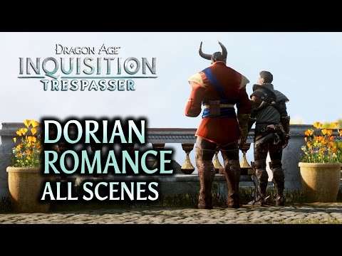 Dragon Age: Inquisition - Trespasser DLC - Dorian Romance (all scenes)