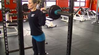 Total Performance Sports January 2013 Exercise of the Month-Squat Tips
