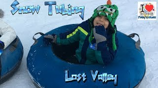 Snow Tubing @ Lost Valley, Maine | Prakys World | Viral Video
