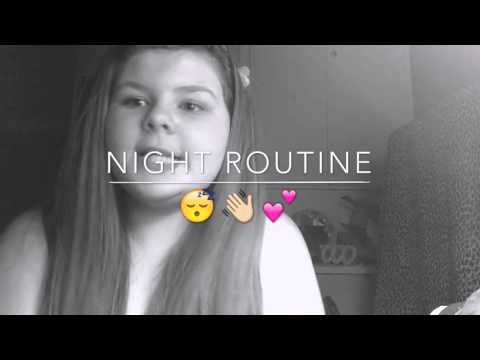 Night routine!😂👋🏼I hate this video