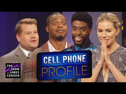 Cell Phone Profile W/ Chadwick Boseman, Sienna Miller & Stephan James