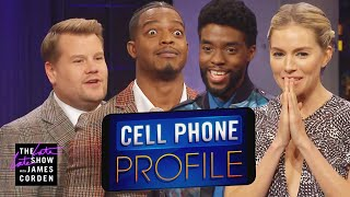 Download Cell Phone Profile w/ Chadwick Boseman, Sienna Miller & Stephan James Mp3 and Videos