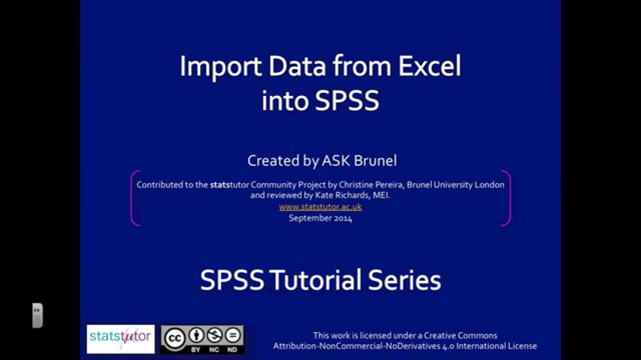 Excel and/or spss question?