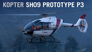 Third Prototype Kopter SH09 Helicopter Makes First Flight - AINtv