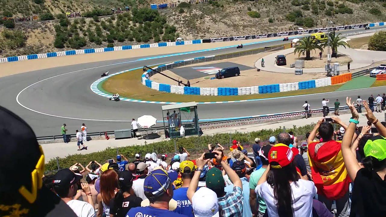 Circuito Jerez : Vuelta calentamiento motogp jerez curva r  youtube