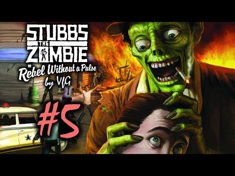 Stubbs the Zombie Месть короля #5 [Помочиться в систему водоснабжения]