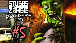 Stubbs the Zombie Месть короля 5 Помочиться в систему водоснабжения