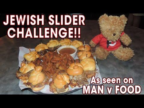Chompie's ULTIMATE JEWISH SLIDER Challenge!!