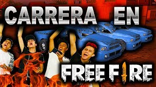 ¡CARRERA EXTREMA en FREE FIRE! #TeamTrax - [ANTRAX] ☣